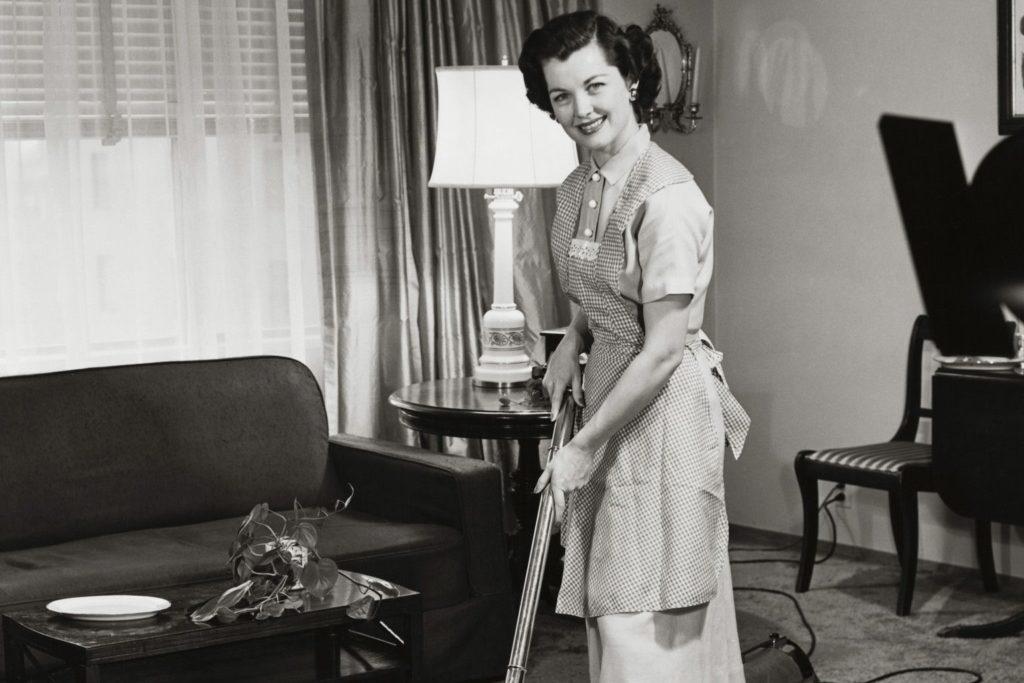 žena kućanica povijest