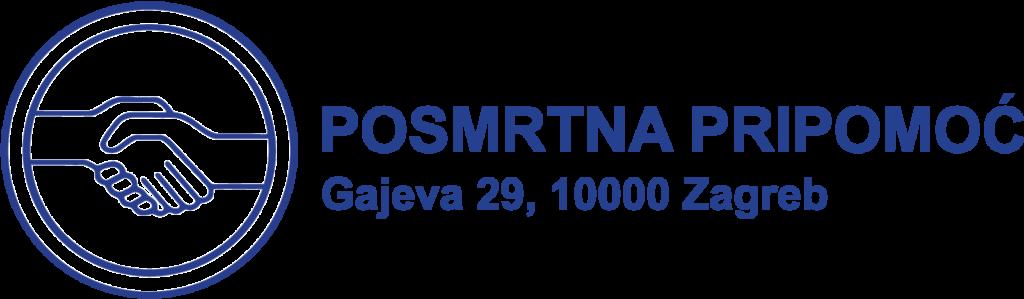 Posmrtna Pripomoc Logotip Horizontalni